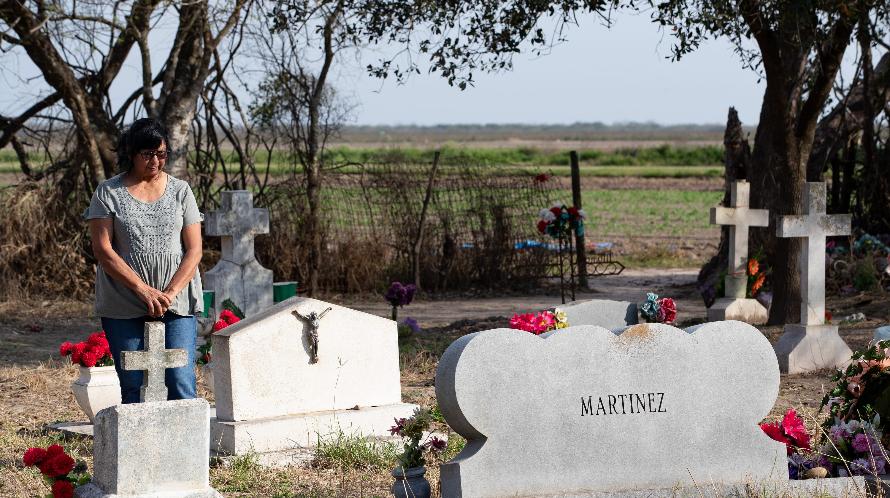 Texas woman's family may be exhumed from historic cemetery in path of Trump's border wall
