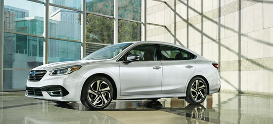 Subaru of America unveiled its 2020 Legacy at the Chicago Auto Show Thursday.