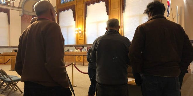 Northside residents took to Cincinnati City Hall Wednesday evening, voicing their concerns about the intersection where Chase and Florida avenues meet.