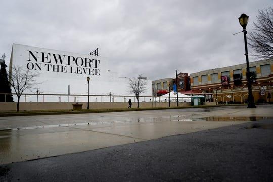 E 3rd St. across from Newport on the Levee, Thursday, Feb. 8, 2019.