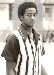FEBRUARY 7, 1978: Aiken High School basketball player Bobby Austin.