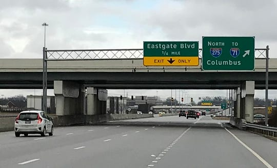 The Ohio Department of Transportation is studying how to make westbound Ohio 32 near the ramp to northbound Interstate 275 in Union Township safer.
