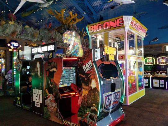 An undersea-themed arcade like the one shown above is set to open soon inside Bass Pro Shops in Altoona. Management expects it to open March 12.