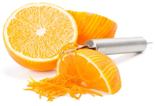 Fresh orange segments and orange zest and zing and color to this recipe.