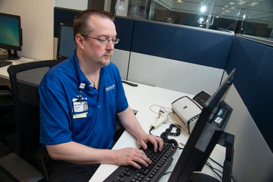 Tim Honeycutt, a Beaumont IT worker