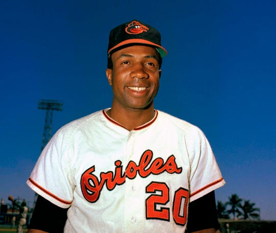 Baseball Hall of Famer Frank Robinson, the first black manager in the major leagues, died on Feb. 7 at age 83.