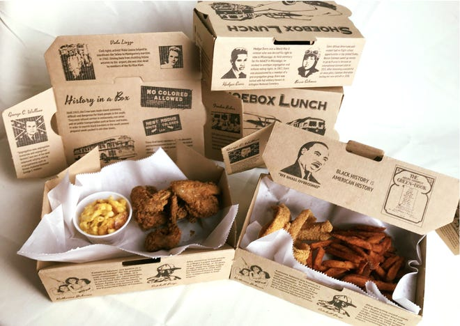 Beans & Cornbread is selling shoe box lunches throughout February.