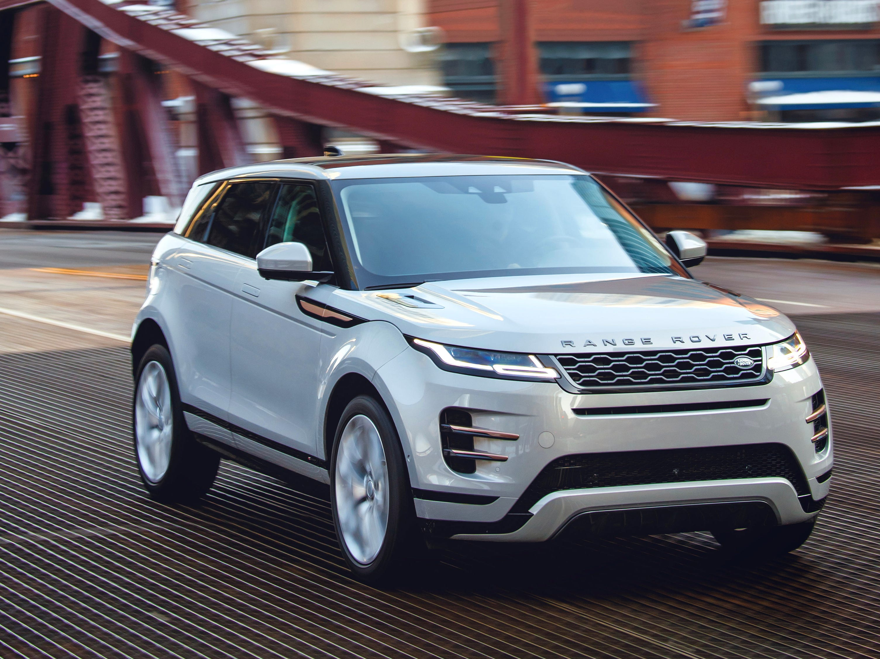 2020 Range Rover Evoque.