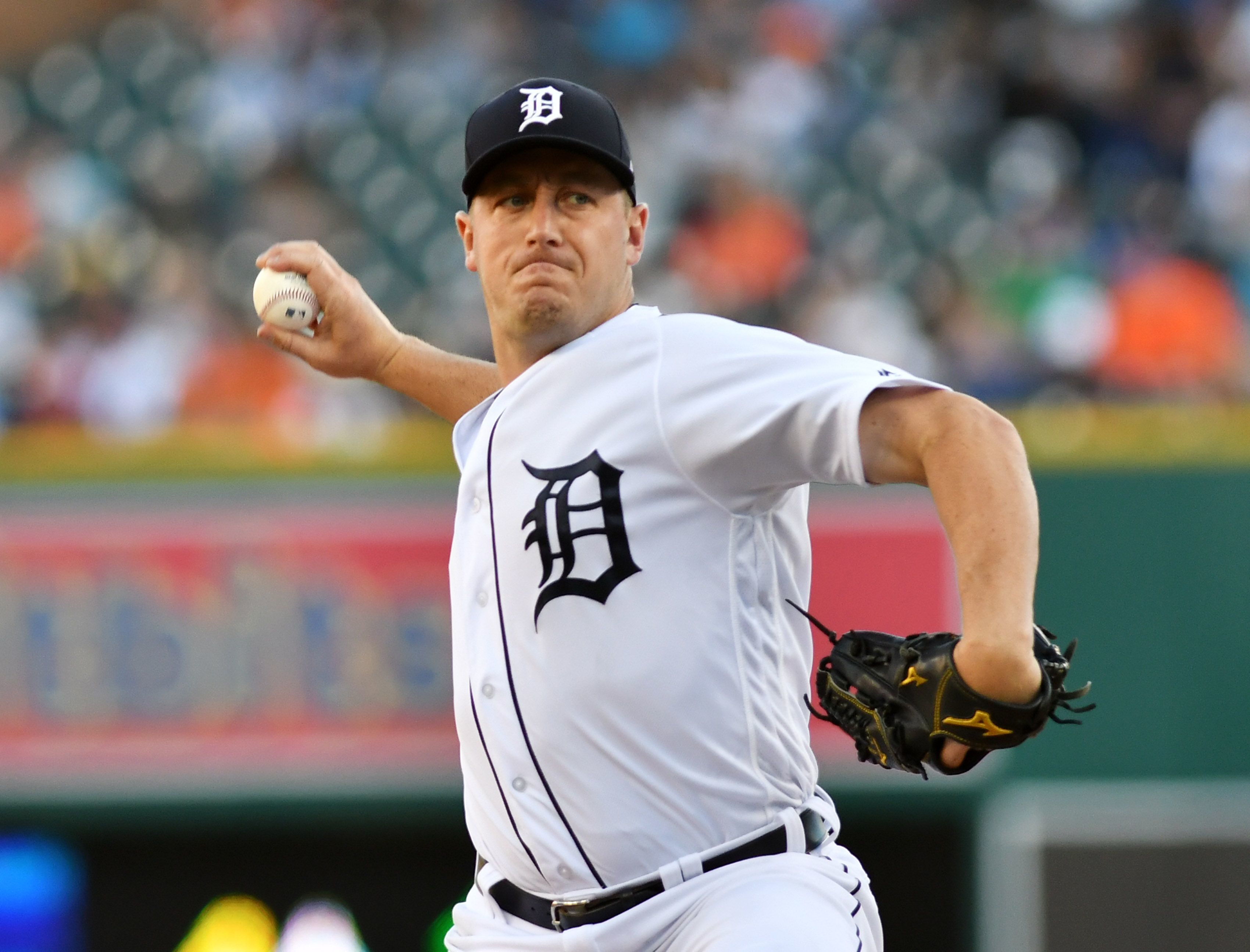 Tigers pitcher Jordan Zimmermann and his wife are donating $500,000 to the baseball program at the University of Wisconsin-Stevens Point, where both were student athletes.