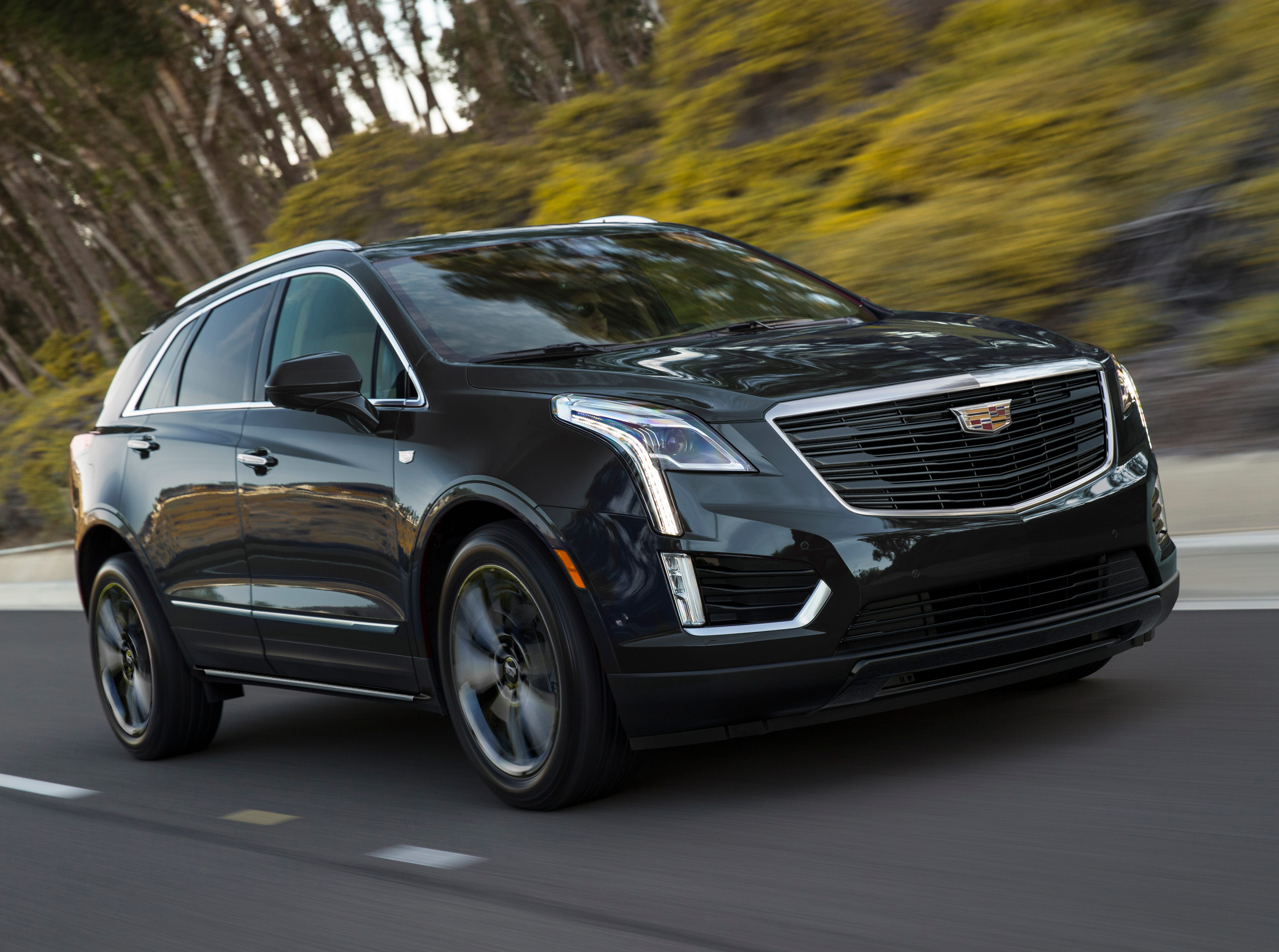 The Cadillac XT5 Sport Package