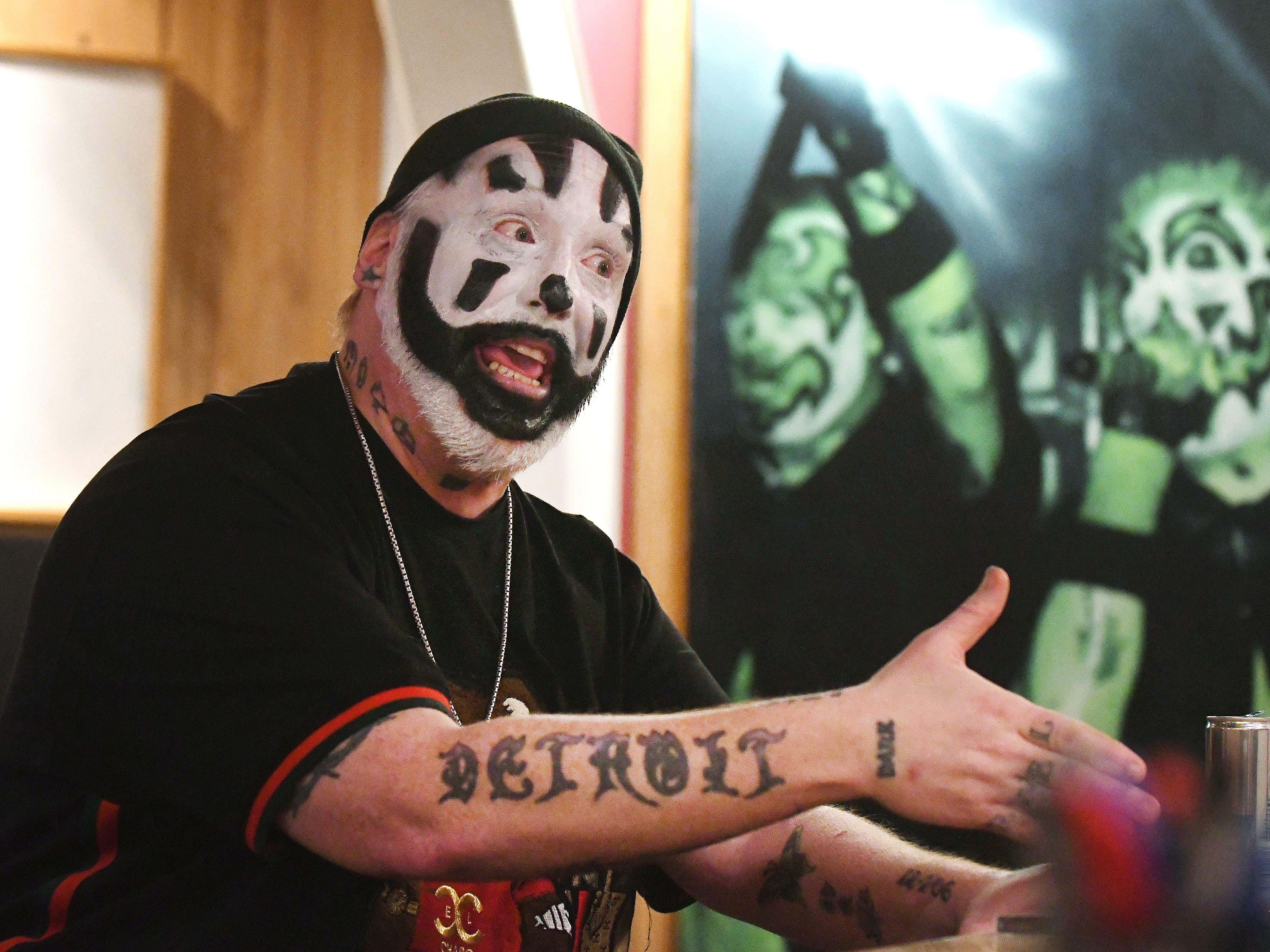 "Violent J, aka Joseph Bruce of Insane Clown Posse, talks with Detroit News' Adam Graham about their upcoming new release ""Fearless Fred Fury."""