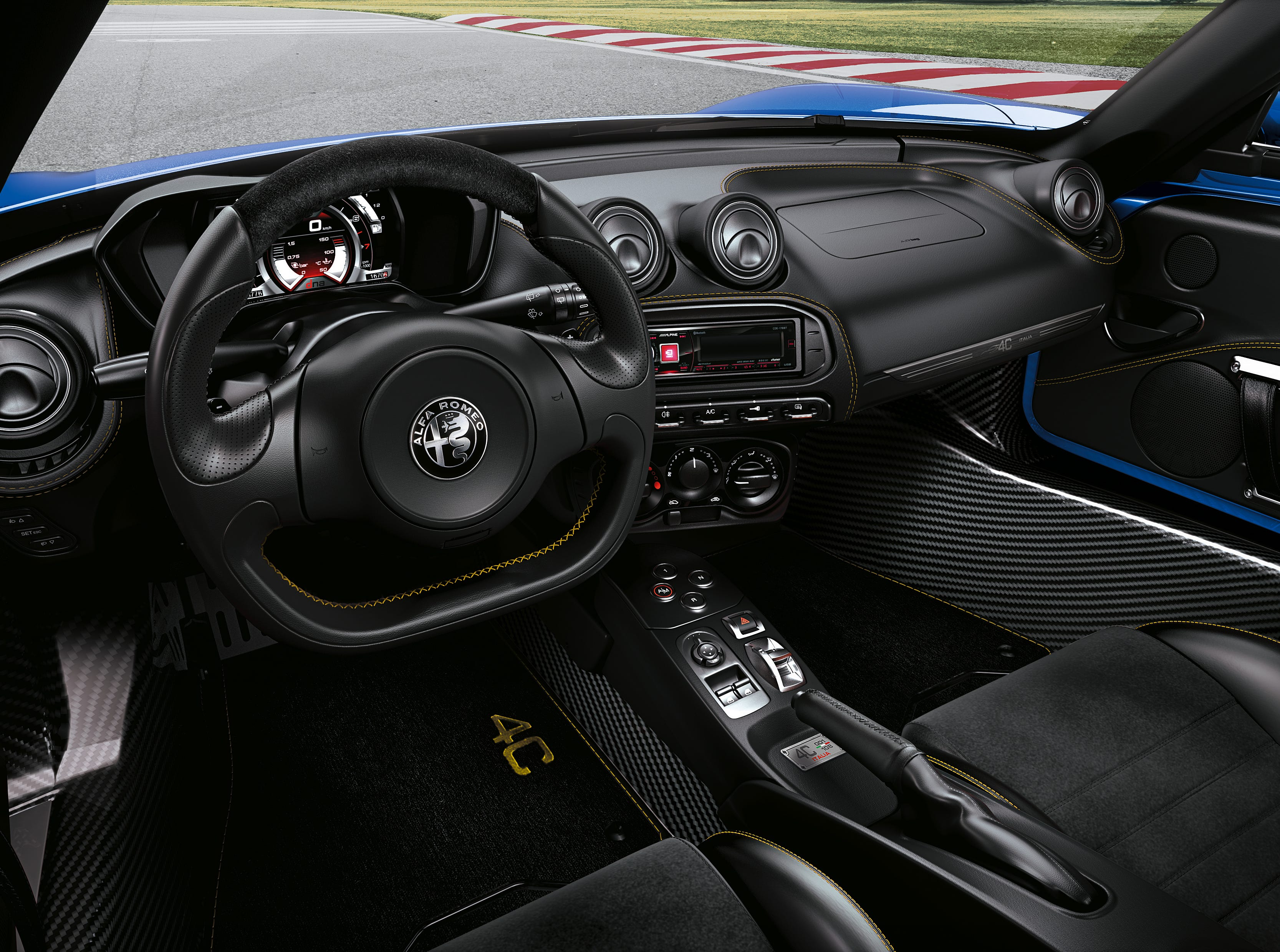 2020 Alfa Romeo 4C Spider Italia (Euro model shown)