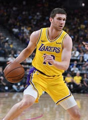 Sviatoslav Mykhailiuk is now a Piston, following a trade with the Lakers that sent Reggie Bullock to Los Angeles.
