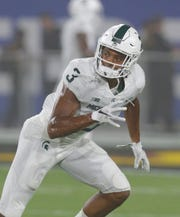 Michigan State safety Xavier Henderson  appeared in all 13 games as a true freshman in 2018 and played 141 snaps. He recorded 15 tackles and led the team with five tackles on kickoffs and ranked tied for second overall on special teams with seven.