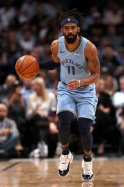 Grizzlies point guard Mike Conley is averaging 20.4 points per game this season.