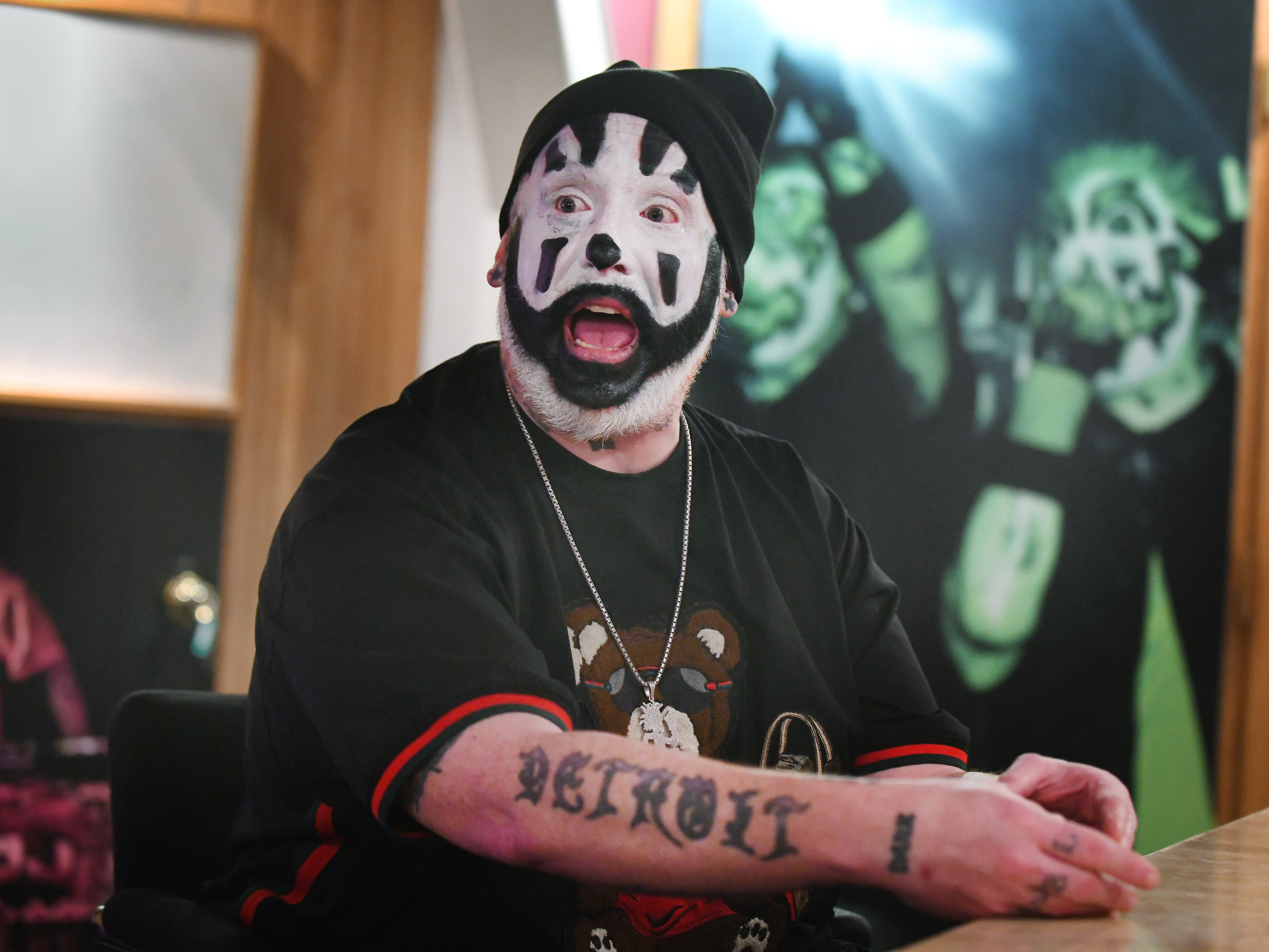 "Violent J, aka Joseph Bruce of Insane Clown Posse, talks with Detroit News' Adam Graham about their upcoming new release, ""Fearless Fred Fury."""