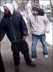 Detroit police are searching for two men who may have information about a fatal shooting.