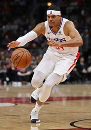Former Pistons forward Tobias Harris was dealt to the 76ers from the Clippers in a late-night trade on Tuesday.