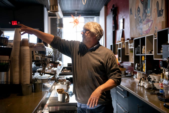 Zlatan Sadikovic, owner of the Oloman Cafe in Hamtramck, found a rundown building on Joseph Campau, renovated it and and turned it into a coffee shop. A broad mix of new small businesses have increased the vibrancy and life of an already diverse city.