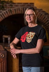 Becky Blair is a server that has worked at Hacienda on First Ave. for the last 32 years.