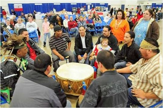 The Brothertown Nation drummers will kick off the event with drumming and singing during a flag ceremony.