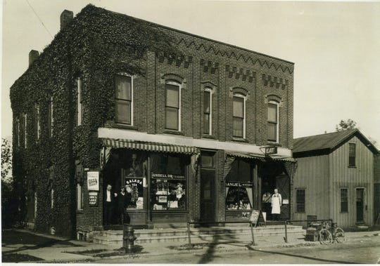 The McSheehy Block began as a saloon in the 1880s.