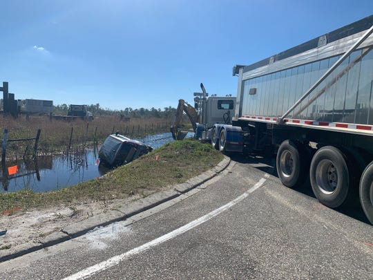 Two people were killed in a crash involving a tractor-trailer on State Road 31 in Charlotte County on Thursday, Feb. 7, 2019.