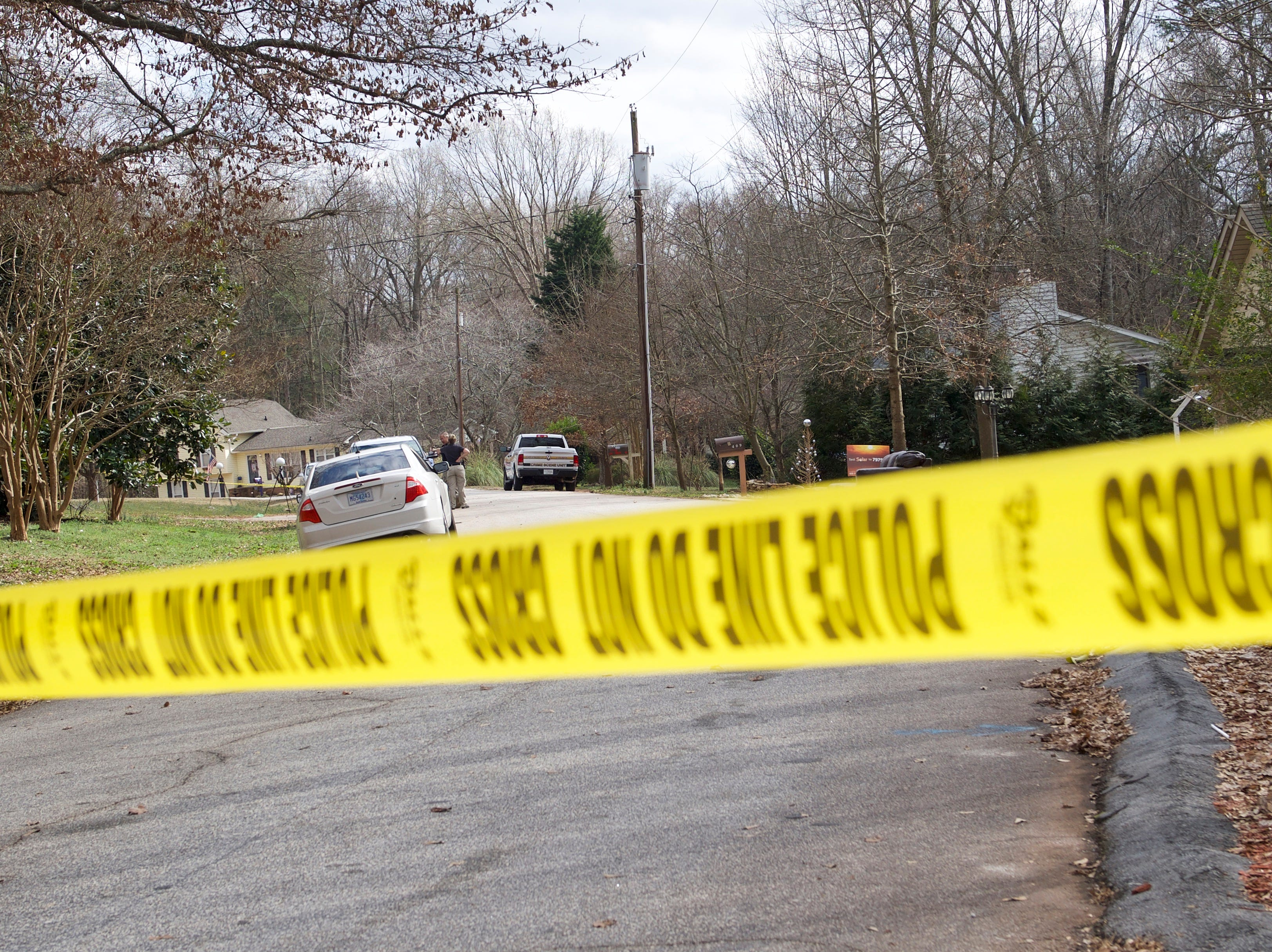 One person is dead, according to Greer Police, after a shooting on Bent Creek Drive in the Bent Creek subdivision on Thursday, Feb. 7, 2019.