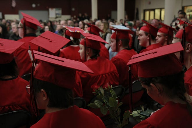 Paris Gibson Education Center held graduation ceremonies on Wednesday.