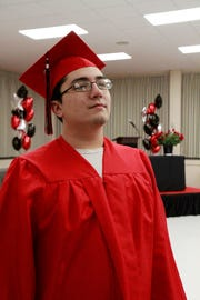 Seth Walk-Garcia plans to pursue a career in the medical field following graduation.