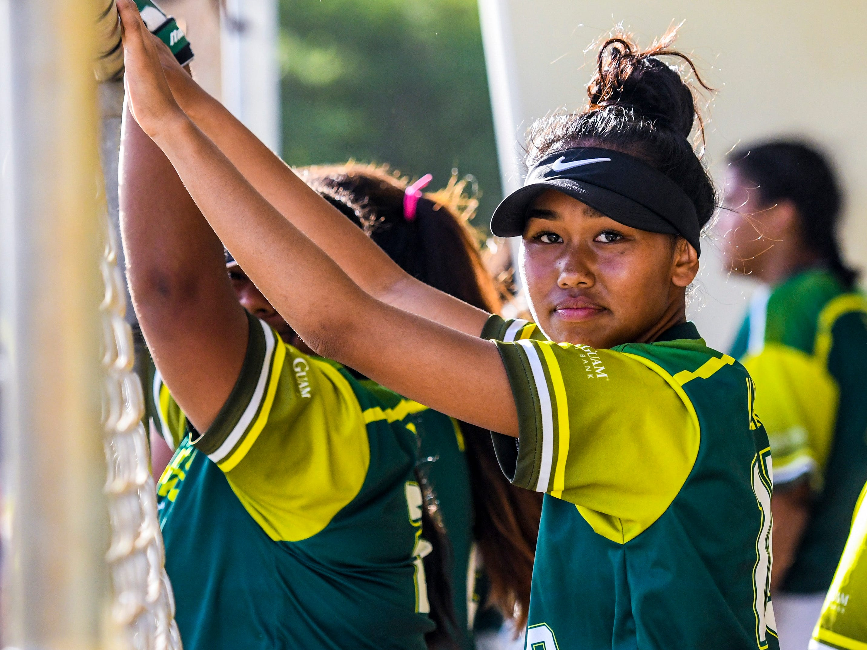The John F. Kennedy Islanders took on the challenge of the Guam High Panthers in IIAAG girls softball action on the diamond at the JFK High School campus in Tamuning on Thursday, Feb. 7, 2019.
