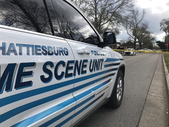 Hattiesburg police are investigating a shooting on the 500 block of North 38th Avenue on Monday, April 22, 2019.