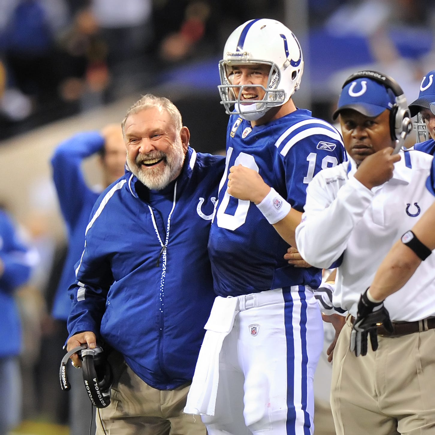 Why Howard Mudd sees Colts' past brilliance in Andrew Luck, offensive line, Frank Reich