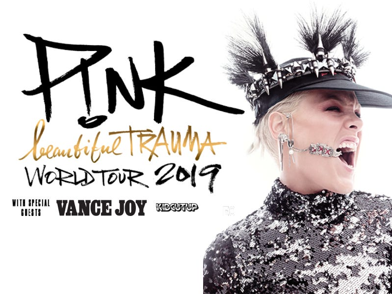 Save on P!nk concert tickets