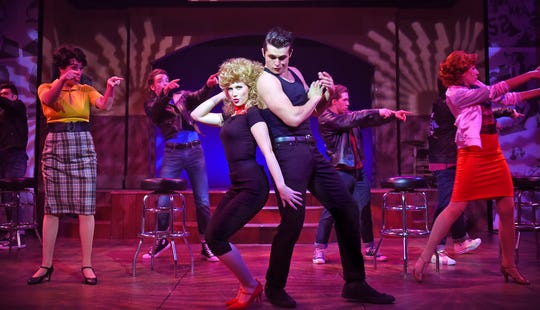 """Sarah Daniels is starring as Sandy in Beef & Boards Dinner Theatre's """"Grease."""""""