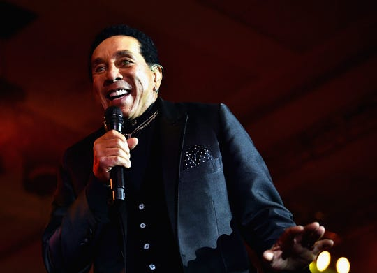 Smokey Robinson will perform as part of the Kroger Symphony on the Prairie series.