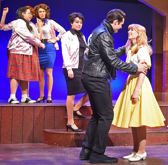 """Sarah Daniels is starring as Sandy in """"Grease"""" at Beef & Boards Dinner Theatre."""