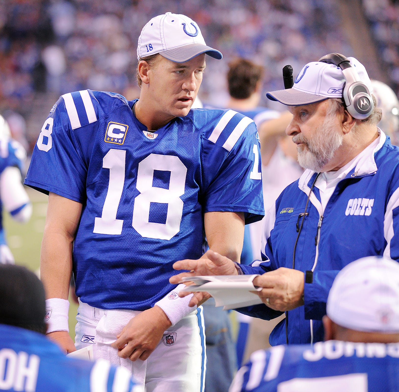 Howard Mudd's back to coaching again because Colts had the right people in place