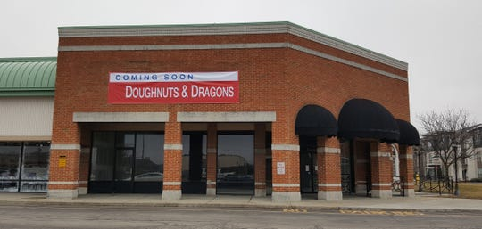 Doughnuts & Dragons is opening in northeast Indianapolis summer 2019.