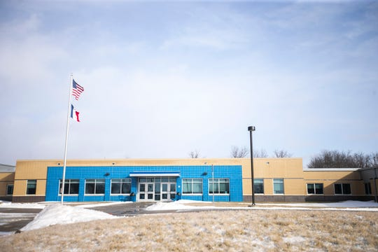 Tiffin Elementary is seen Thursday, Feb. 7, 2019 at 104 N Park Road in Tiffin, Iowa. Tiffin Elementary is scheduled to open in August.