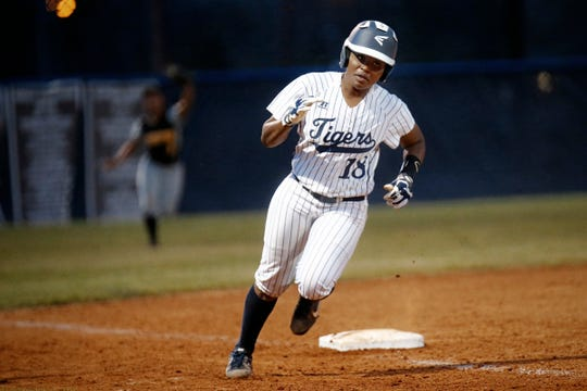 Preseason All-SWAC First Team selection Kelsey Smith leads the way for the 2019 Jackson State softball team.