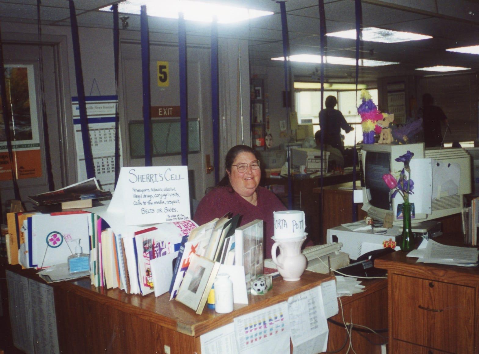 Sherri Gardner-Howell, former features editor.
