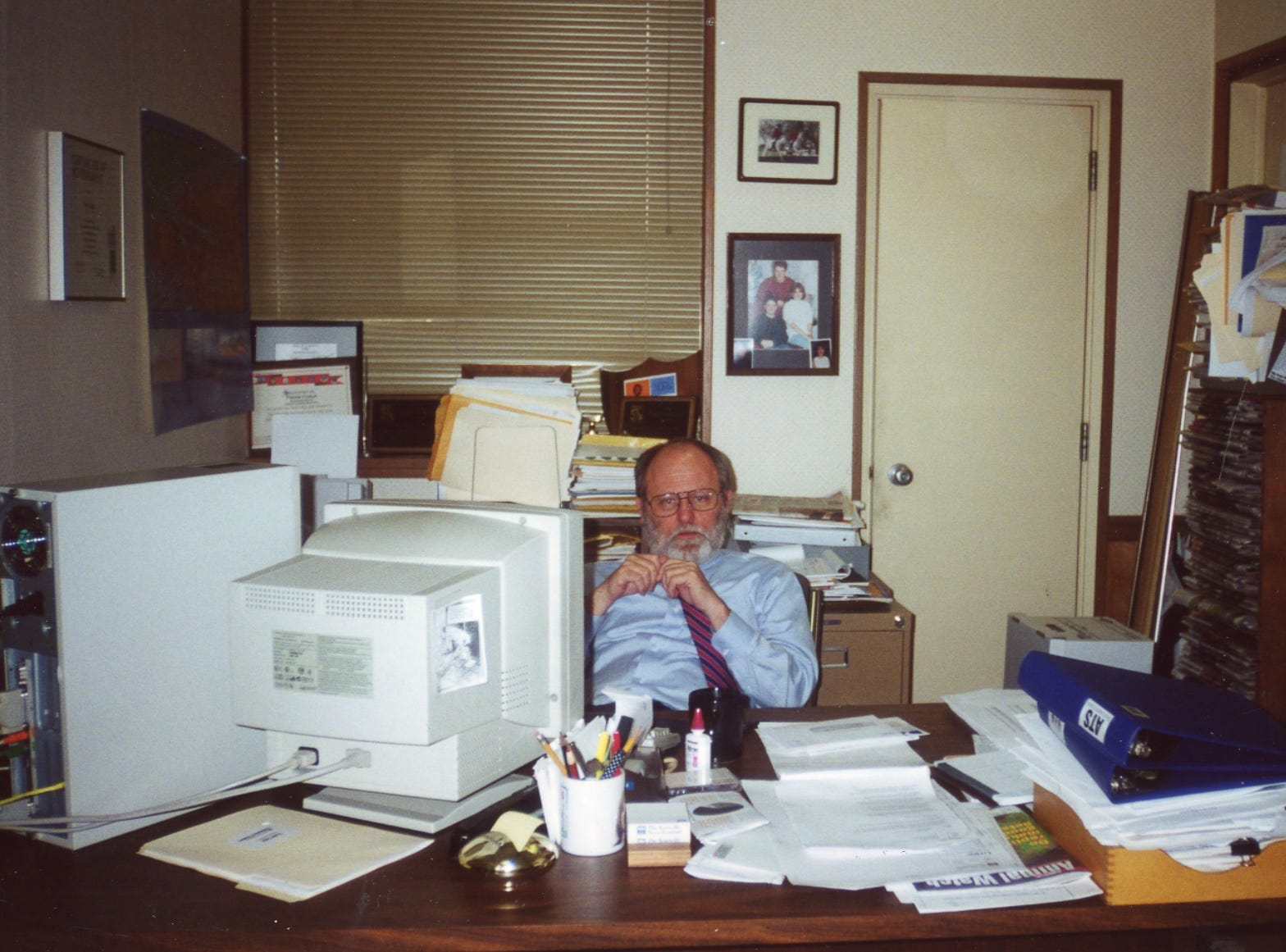 Frank Cagle former managing editor in the 1990's.