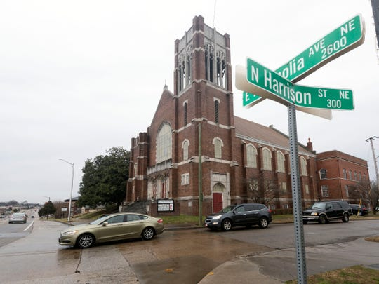 Despite the disrepair of Magnolia Avenue United Methodist Church, Russ Johnston, one of the founders of the free clinic there, wants to remain at the location because it's convenient to reach by KAT bus.