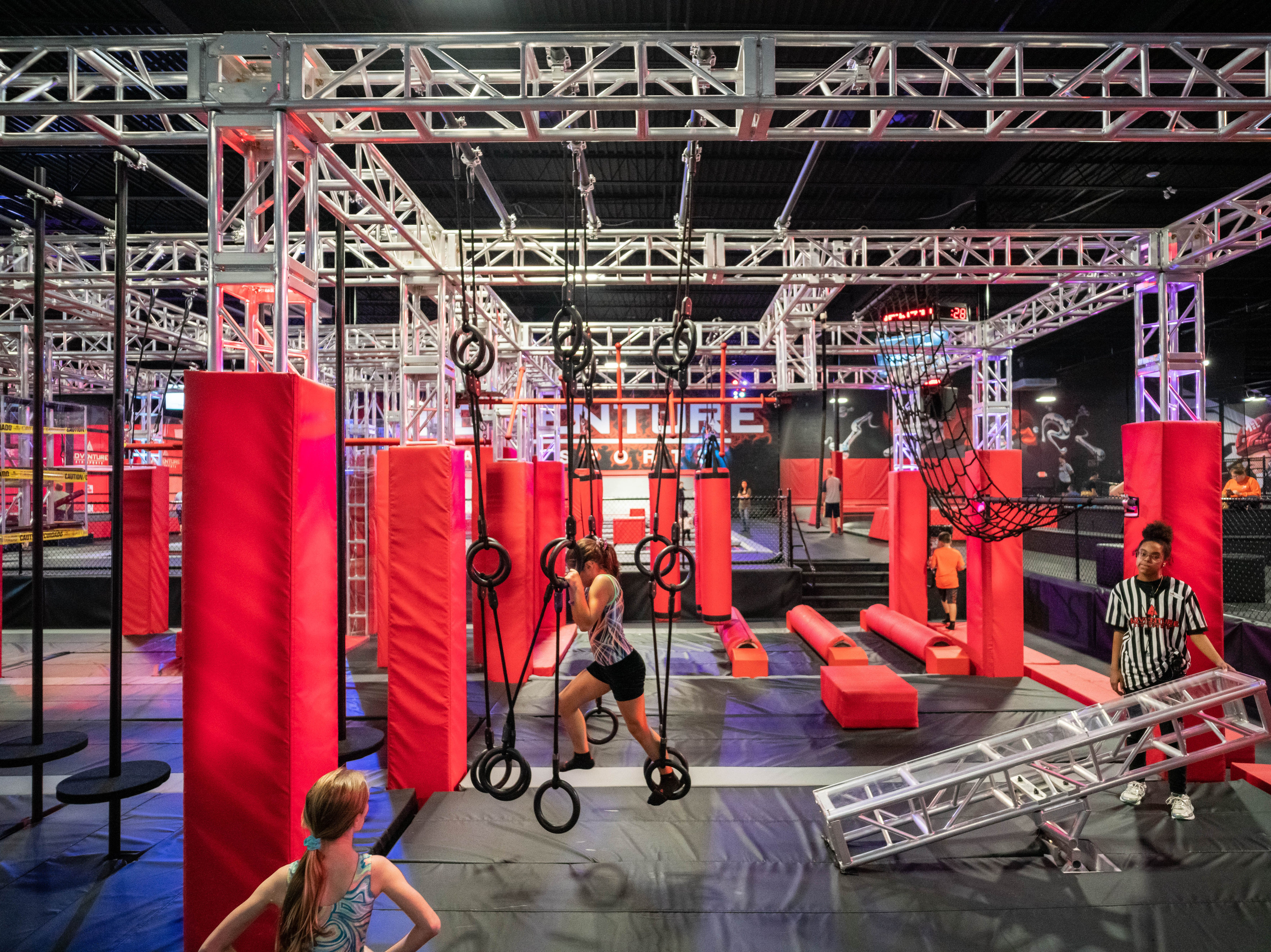 Adventure Action Park will open its third location in Knoxville in May 2019. The family entertainment center will feature trampolines, an obstacle course, zip lines and more.