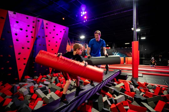 Adventure Action Park opened its third location in Knoxville this month. The family entertainment center features trampolines, an obstacle course, zip lines and more.