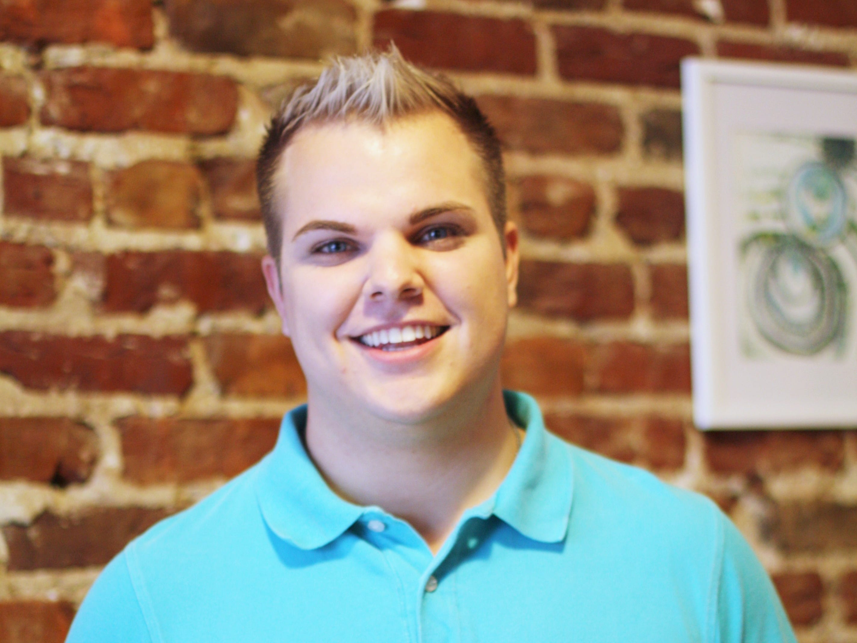 Josh Ray started out making cotton candy-scented bath bombs for friends before launching his home-based business, The Bath Lab. Ray currently sells his products at Jacks of Knoxville.