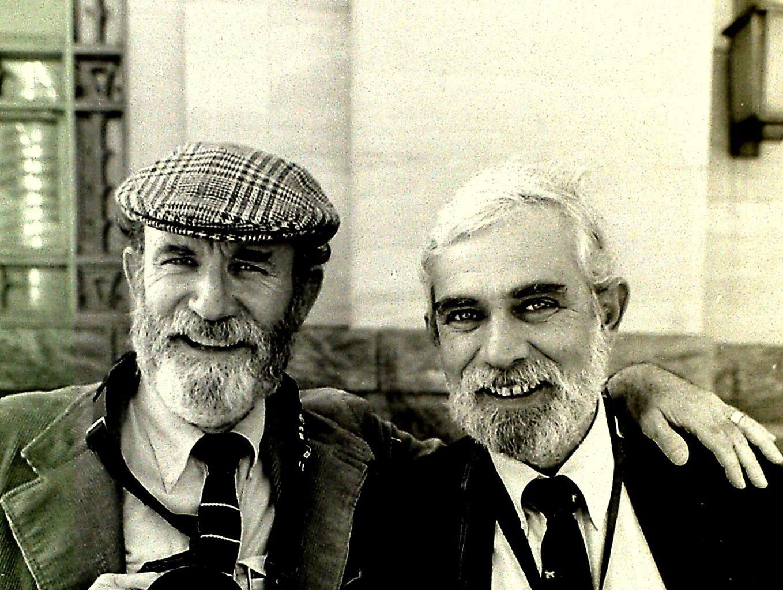 Bob Koller, TVA Photographer, with J. Miles Cary.