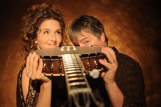 Béla Fleck  and Abigail Washburn will perform at 8 p.m. Friday, Feb. 8, at Purdue's Loeb Playhouse