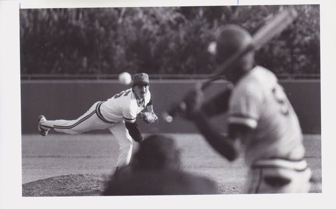 Pitcher Garrett O'Connor played for UL from 1982 to 1985 and left as a second-round pick by the New York Yankees in 1985.